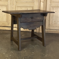 19th Century Rustic Dutch Side Table