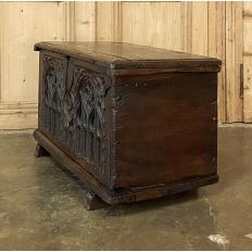 18th Century Dutch Gothic Trunk