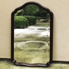 Antique Italian Beveled Wall Mirror