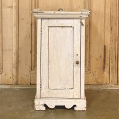 19th Century Petite Rustic Painted Cabinet ~ Wall Cabinet