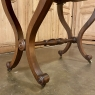 19th Century French Louis Philippe Mahogany Drop Leaf Writing Table