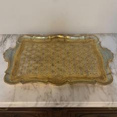 Mid-Century Florentine Serving Tray