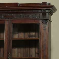 19th Century Renaissance Revival Bookcase with Angels~ Putti