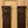 Pair 19th Century Carved Pilasters