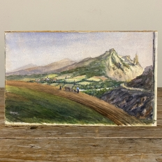 Antique Water Color on Board by H. G. Ontrop (1880-1955)