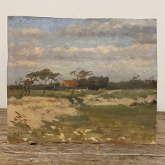 Oil Painting on Board by H. G. Wolbers
