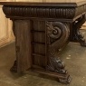 19th Century French Renaissance Desk with Dolphins