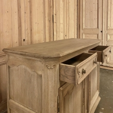 19th Century Country French Stripped Oak Buffet