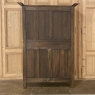 19th Century Country French Armoire from Normandie in Stripped Oak