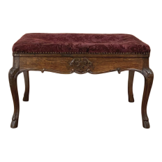 Antique Country French Vanity ~ Piano Bench