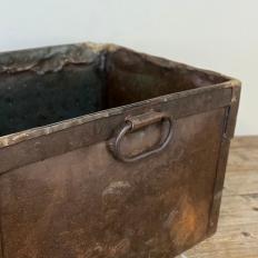 Antique Industrial Bin ~ Jardiniere