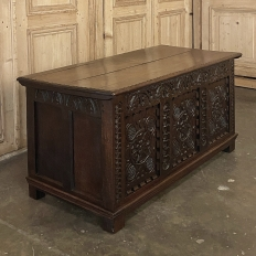 Early 19th Century Rustic French Renaissance Trunk