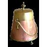 19th Century Copper Kindling Bucket