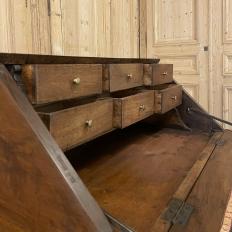 19th Century French Directoire Neoclassical Walnut Secretary Desk