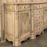 Antique Liegoise Louis XIV Style Buffet in Stripped Oak