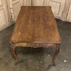 Antique Liegoise Regence Style Dining Table