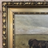 Antique Framed Oil Painting on Canvas by Charles Van Dousselaere