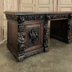 Grand 19th Century French Renaissance Low Buffet ~ Console