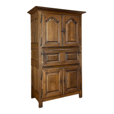 Rustic 19th Century Country French Secretary ~ Cabinet