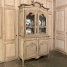 19th Century French Louis Philippe Period Bookcase in Stripped Oak
