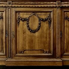19th Century French Louis XIV Walnut Bookcase