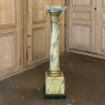 19th Century french Louis XVI Faux Marble Pedestal