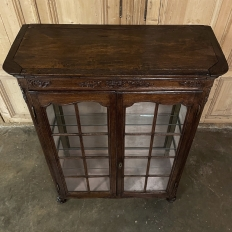 19th Century Country French Vitrine ~ Bookcase