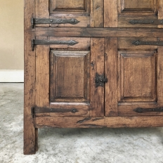 19th Century Rustic Country French Cabinet