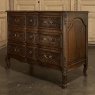 Antique Country French Louis XV Four-Sided Commode