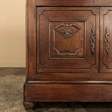19th Century Country French Four Door Cabinet