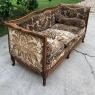 Antique French Louis XV Walnut Canape ~ Sofa
