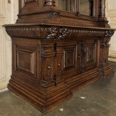 19th Century French Henri II Bookcase