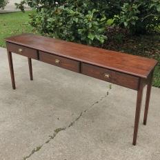Antique English Pine Sofa Table ~ Console