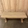 Vintage Rustic Solid Stripped Oak Trestle Table
