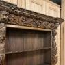 19th Century French Renaissance Revival Open Bookcase