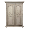 18th Century French Louis XIII Painted Armoire