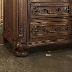 19th Century French Louis XIV Commode en Arbalette