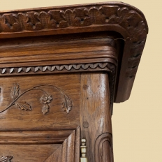 Early 19th Century Country French Armoire ~ Quatre Follet