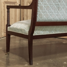 19th Century Napoleon III Period Empire Style Sofa ~ Canape
