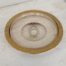 Art Deco Period Cut Glass Gilded Crudite Serving Set