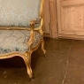 PAIR 19th Century French Louis XV Giltwood Canapes ~ Sofas