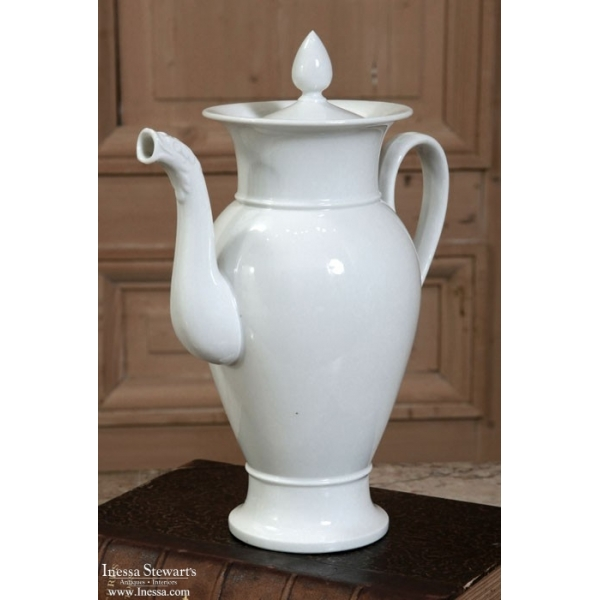 Antique Porcelain Coffee Pot