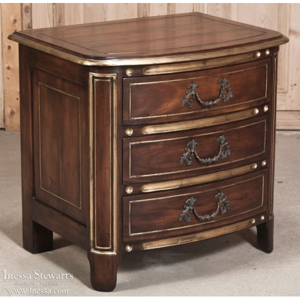 French Louis XIV Style Nightstand/Commode