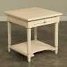 French Louis XVI Painted End Table