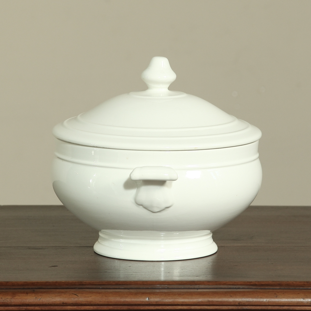 White Porcelain Tureen Inessa Stewart S Antiques
