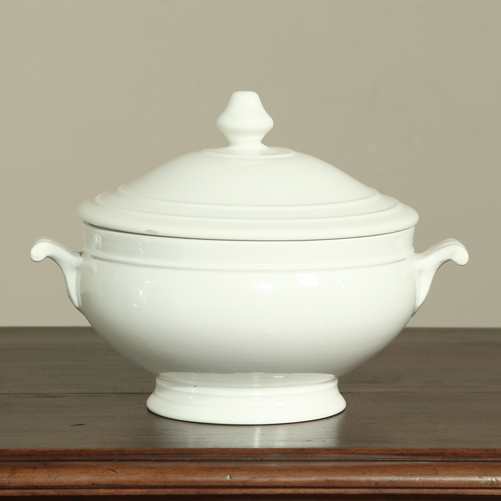 White Porcelain Tureen Inessa Stewart S Antiques