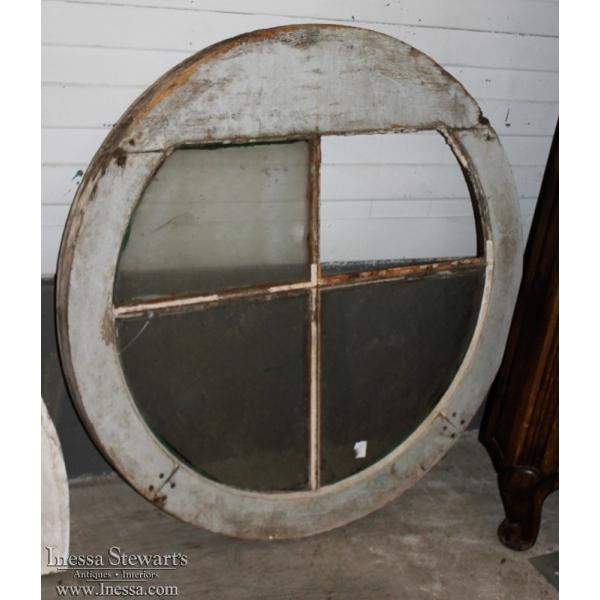 19th Century Round Window Frame