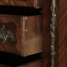 19th Century French Marble Top Serpentine Commode
