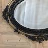 Antique French 19th Century Louis XVI Oval Mirror