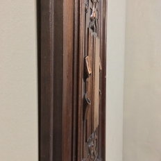 Pair 19th Century French Henri II Carved Walnut Panels
